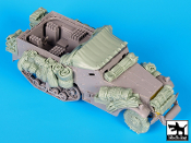 1/35 M4 Mortar carrier big accessories set