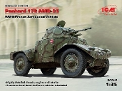 WWII Panhard 178 AMD35 French Armored Vehicle