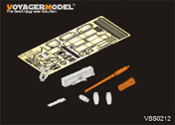 1/35 Modern US M109 carried M2 machine gun (full kit) (GP)