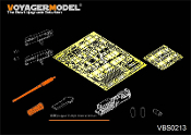 1/35 Modern Israeli Tiran 5 MBT carried machine gun sets(full kit)
