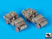 1/72 US Jeep accessories set