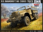 US Diamond T968 Cargo Truck w/Open Cab