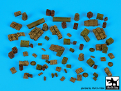 1/72 British WW2 equipment accessories set