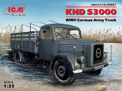 KHD S3000 WWII German Army Truck