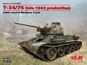 T-34/76 1943 Late 1943 Production