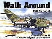 Mig-15 Walk Around