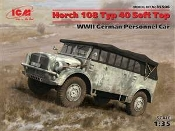 Horch 108 Typ 40 WWII German Personnel Car
