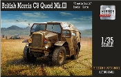 British Morris C8 Quad Mk III Beetle-Back Body Late Artillery Tractor