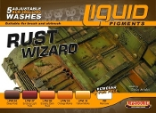 Rust Wizard Weathering Liquid Pigments Set