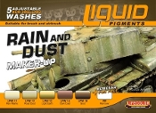 Rain & Dust Weathering Liquid Pigments Set