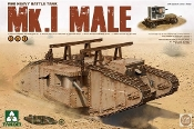 WWI Mk I Male Heavy Battle Tank (2 in 1)