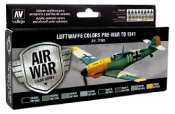 Luftwaffe Colors Pre-War to 1941 Model Air Paint Set (8 Colors)
