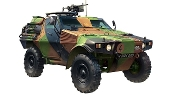 French Panhard VBL Light Armored Vehicle 1987-Present