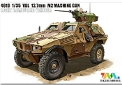 French Panhard VBL Light Armored Vehicle w/12.7mm M2 Machine Gun 1987-Present