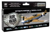 Luftwaffe Maritime & Tropical Colors Model Air Paint Set (8 Colors)