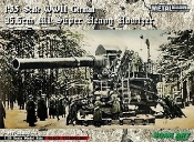 WWII German 35.5cm M1 Super Heavy Howitzer