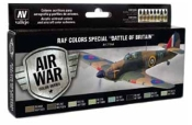 17ml Bottle RAF Colors Special Battle of Britain Model Air Paint Set (8 Colors)