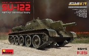 Soviet Su122 Initial Production Self-Propelled Tank w/Full Interior