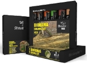 Dioramas Weathering Oil Paint Set (6 Colors) 20ml Tubes