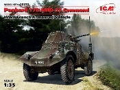 WWII French Panhard 178 AMD35 Command Armored Vehicle