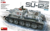 Soviet Su122 Early Production Self-Propelled Tank