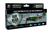 Soviet Air Force VVS 1941 to 1943 Great Patriotic War Model Air Paint Set (8 Colors)