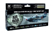 Soviet Air Force VVS 1943 to 1945 Great Patriotic War Model Air Paint Set (8 Colors)