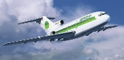 B727-100 Germania Commercial Airliner