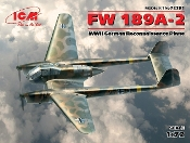 WWII German Fw189A2 Recon Aircraft