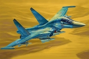 Russian Su-34 Fullback Fighter-Bomber