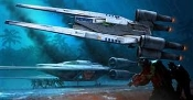 Star Wars Rogue One Rebel U-Wing Fighter Snaptite