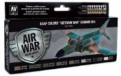 USAF Vietnam War SEA (South East Asia) Model Air Paint Set (8 Colors)