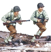 1/35 WW2 WW2 U.S Infantry Normandy 1944