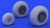 1/48 Aircraft- PBY5A Wheels for RVL (Resin)