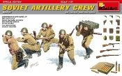 WWII Soviet Artillery Crew (5) w/Ammo Boxes & Weapons (Special Edition)