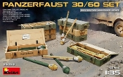 WWII Panzerfaust 30/60 Infantry Weapons w/Ammo Boxes