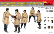 WWII Soviet Tank Crew Winter Uniforms (5) w/Weapons (Special Edition)