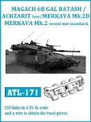 1/35 GAL Batash/Achzarit Late/Merkava 3D Track Set (210 Links)