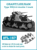 1/35 Grant/Lee/Ram Type WE210 Double I Track Set (168 Links)