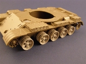 1/35 Burn out Wheels for T-55/62 Tanks