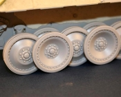 "1/35 ""Strenghthen"" Road wheels for Panther ""D"""