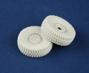 1/35 Road wheels for HUMVEE (late pattern)
