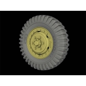 "1/35 Front Road wheels for M3 ""Half Track"" (Goodyear)"