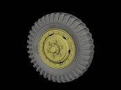 "1/35 Front Road wheels for M3 ""Half Track"" (Firestone)"
