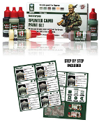 Splinter Camo Paint Set
