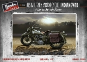 WWII US Military Indian 741B Motorcycle (2)
