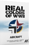 Real Colors of WWII Aircraft Book