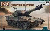 M8 Armored Gun System Light Army Tank