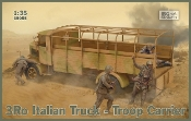 3Ro Italian Troop Carrier Truck