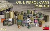 Oil & Petrol Cans 1930-40s (36)
